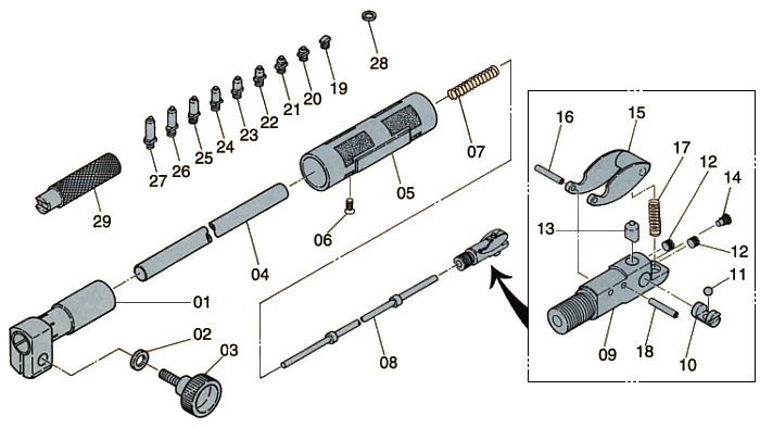 Parts Drawings ; CC-01