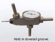Hold by Dovetail Stem